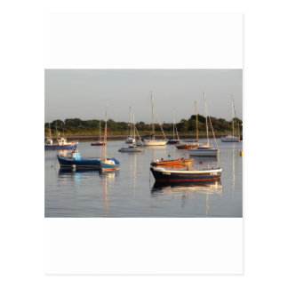 Boats at Renville Postcard