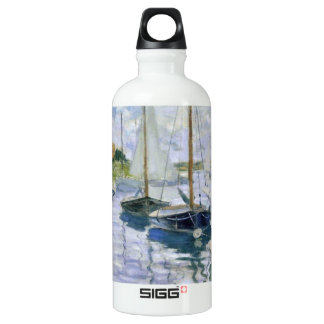 Boats At Rest Aluminum Water Bottle