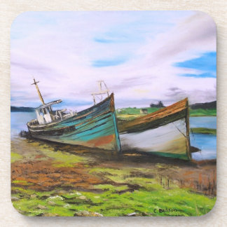 Boats at rest drink coasters