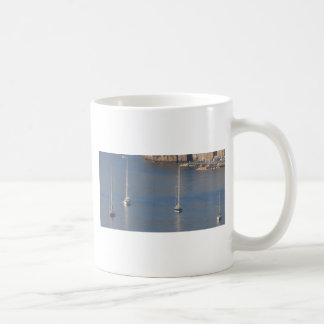 Boats at rest in Sorrento Italy Classic White Coffee Mug