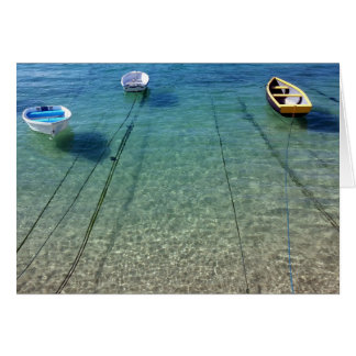 Boats at Rest  - Note Card