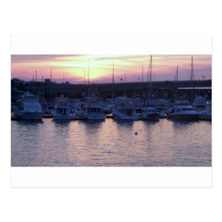 Boats at rest postcard