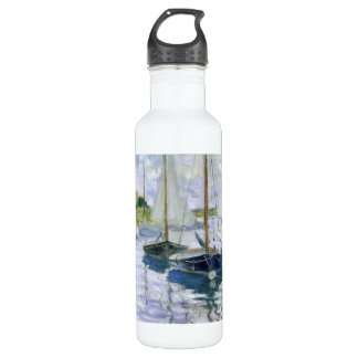 Boats At Rest Water Bottle