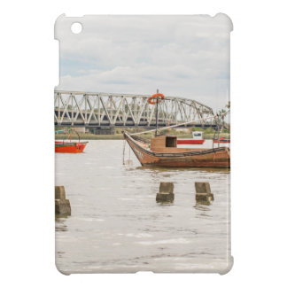 Boats at Santa Lucia River in Montevideo Uruguay iPad Mini Covers