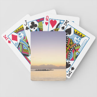 Boats at Sea Bicycle Playing Cards