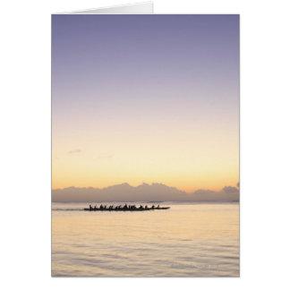 Boats at Sea Greeting Cards
