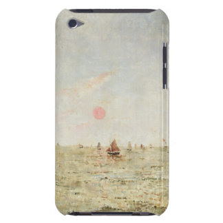 Boats at Sunrise (oil on panel) iPod Case-Mate Case