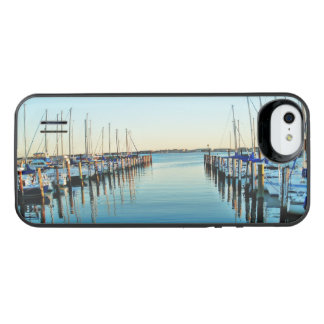 Boats At The Marina by Shirley Taylor iPhone SE/5/5s Battery Case