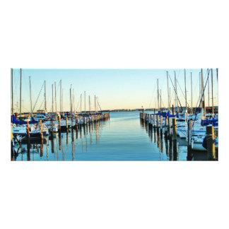 Boats At The Marina by Shirley Taylor Rack Card