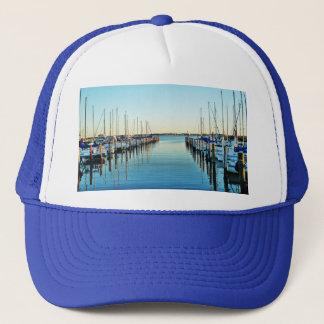 Boats At The Marina by Shirley Taylor Trucker Hat