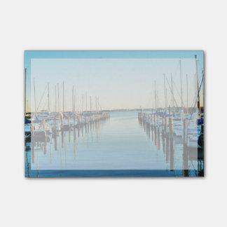 Boats At The Marina Post-it® Notes