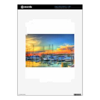 Boats at the Marina Strong jpg iPad 2 Skins