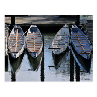 Boats Awaiting for You Postcard
