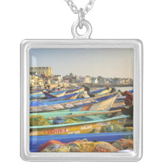 Boats being readied for fishing, The Church of Silver Plated Necklace