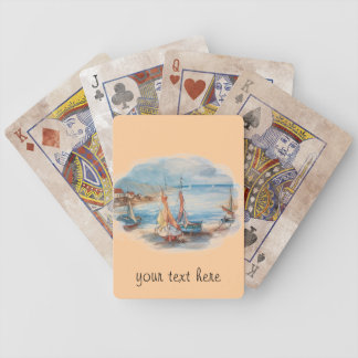 Boats Bicycle Playing Cards