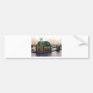 boats car bumper sticker