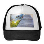 Boats by the Dock Mesh Hat