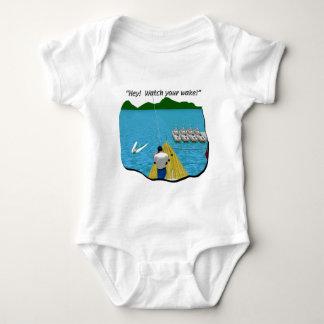Boats - Cartoon - Watch your Wake T Shirt