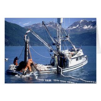 Boats - Commercial Fishing - Alaska Greeting Card