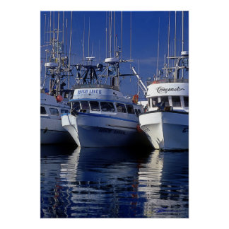 Boats - Commercial Fishing - Alaska Print