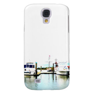Boats docked samsung galaxy s4 cover