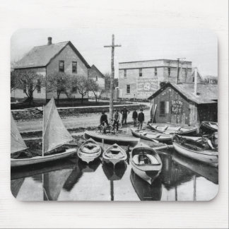 Boats for Let Mouse Pad