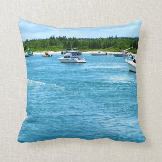 boats going out to sea in Florida Pillows