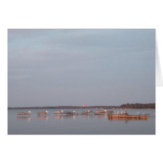 Boats - Grand Traverse Bay Card