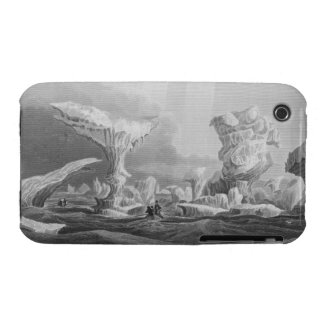 Boats in a Swell Amongst Ice, August 24, 1826, fro iPhone 3 Case