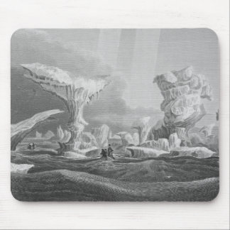 Boats in a Swell Amongst Ice, August 24, 1826, fro Mouse Pad
