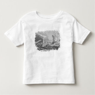 Boats in a Swell Amongst Ice, August 24, 1826, fro Tee Shirt