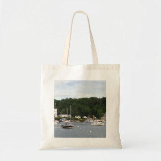 Boats in Boothbay Harbor Budget Tote