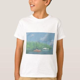 Boats in Cove, T-shirt / Shirt