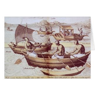 Boats in Goa Card