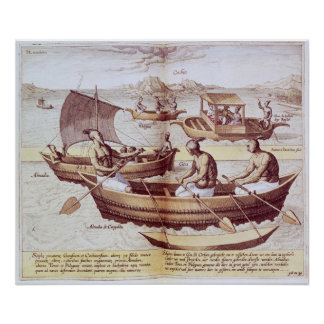 Boats in Goa Posters