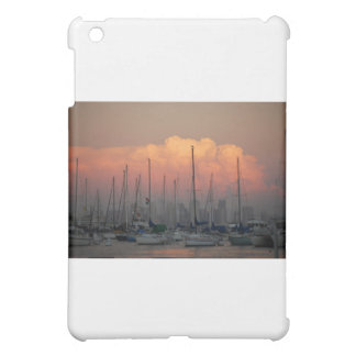 Boats in harbor cover for the iPad mini