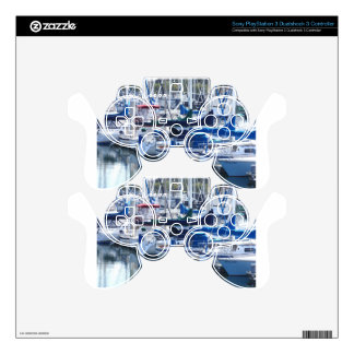 Boats in Harbor PS3 Controller Decal