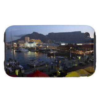 Boats in harbor, South Africa iPhone 3 Tough Case