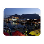 Boats in harbor, South Africa Magnets
