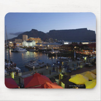 Boats in harbor, South Africa Mouse Pad
