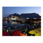 Boats in harbor, South Africa Postcards