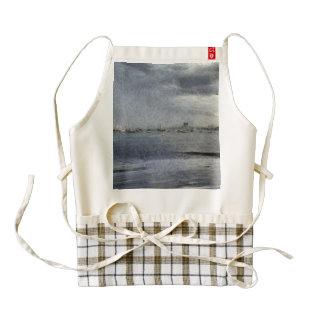 Boats in melbourne zazzle HEART apron