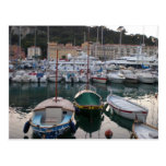 Boats in Nice Postcard