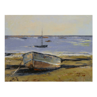 Boats in Provincetown Harbor Postcard
