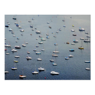 Boats in Rio Postcard