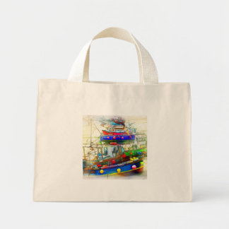 BOATS IN ST. IVES TOTE BAG
