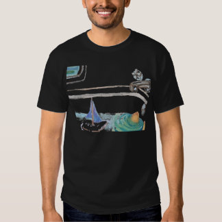 Boats in the Bathtub Past Time to go to the Beach Shirt