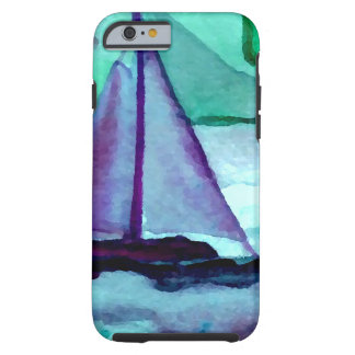 Boats in the Bathtub Sailing Art CricketDiane Tough iPhone 6 Case