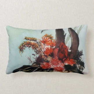 Boats in the Dock (To Corunna) Throw Pillow