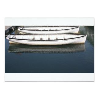 Boats in the harbour Invitation 13 Cm X 18 Cm Invitation Card
